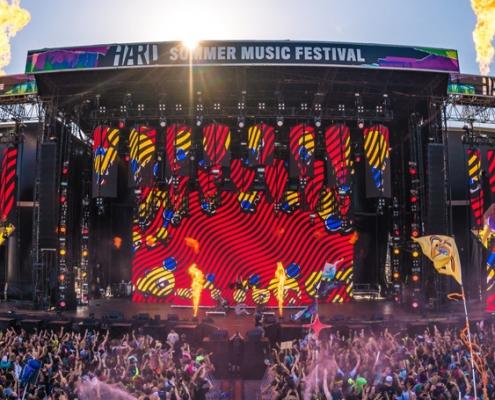 hard summer music festival nfc wristbands