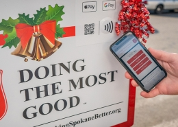 salvation army kettle pay nfc