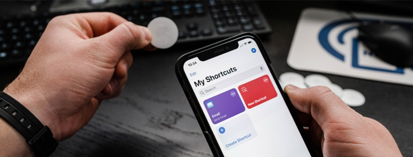 nfc shortcuts iphone app nfc tag